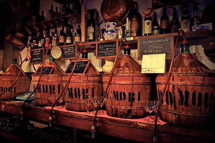 Botti Legno Venezia Vino