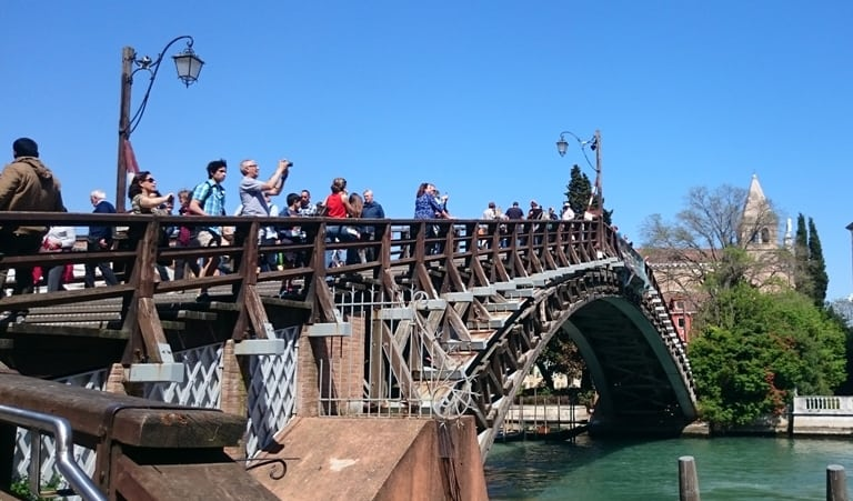 Accademia Brdige Venice Grand Canal