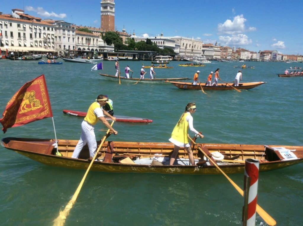 Cours d'aviron Venise