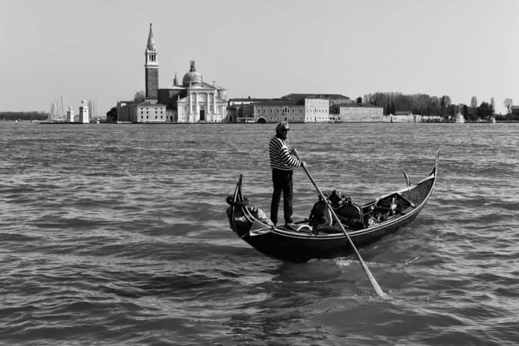 Canal grande gondola Venezia