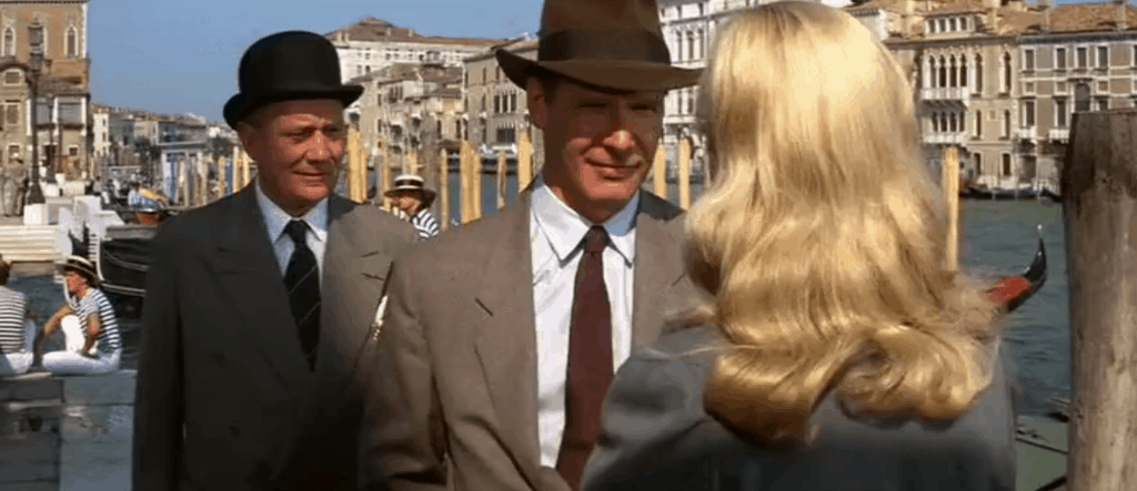 "The city of Venice in the famous movie ""Indiana Jones and the last crusade"""
