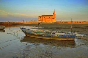 Caorle : die Kirche auf dem Meer