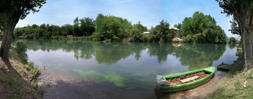 Places to visit near lido di Jesolo: Sile River near Treviso, PH Andrea Rossi