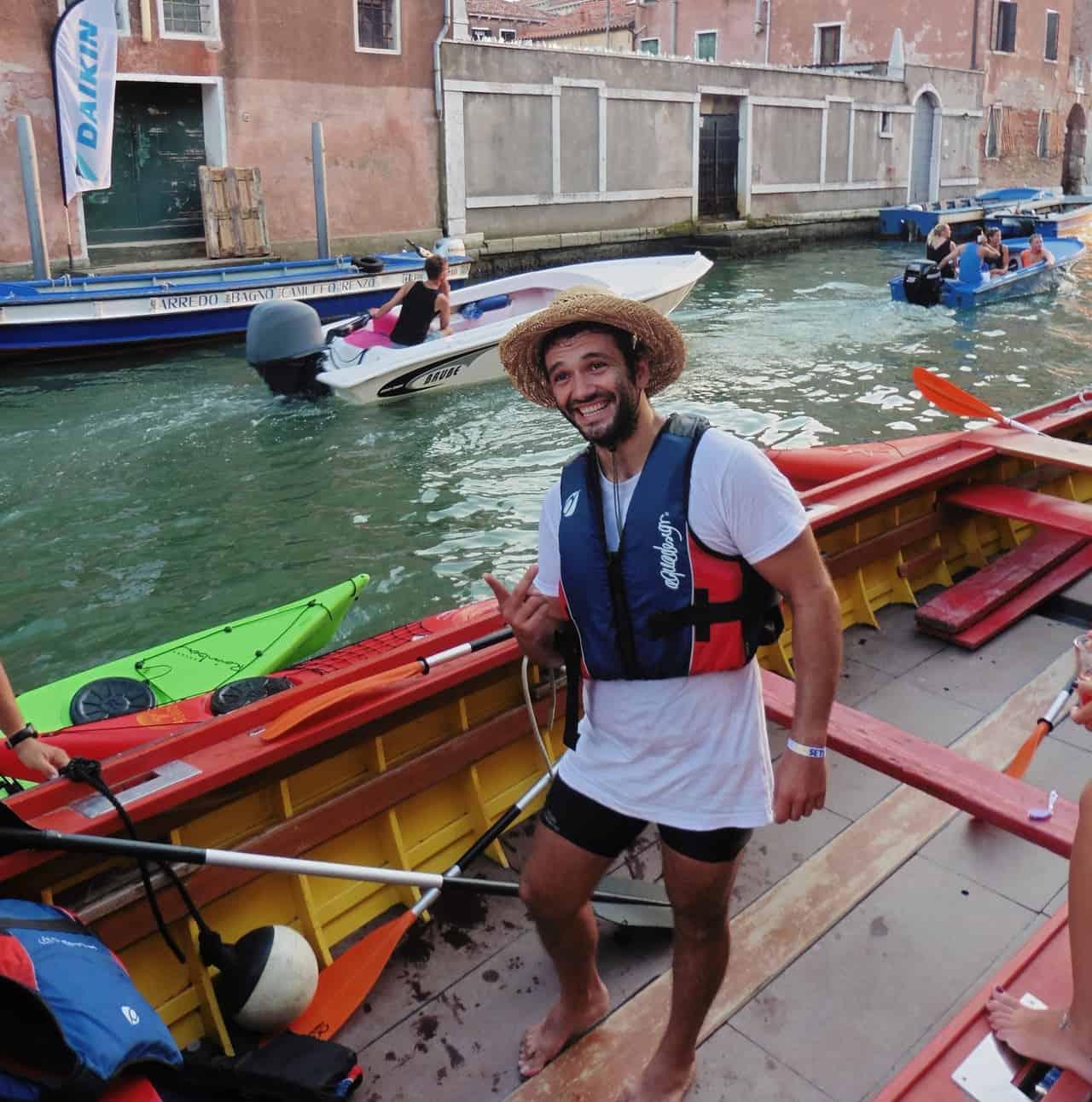 Venise Que faire: Du kayak!