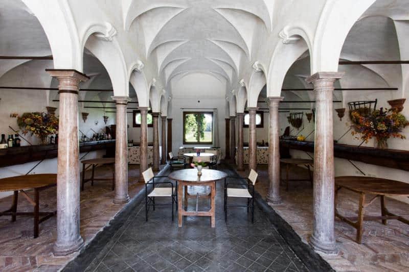 Visiter Trevise: Villa Tiepolo Passi, l'intérieur