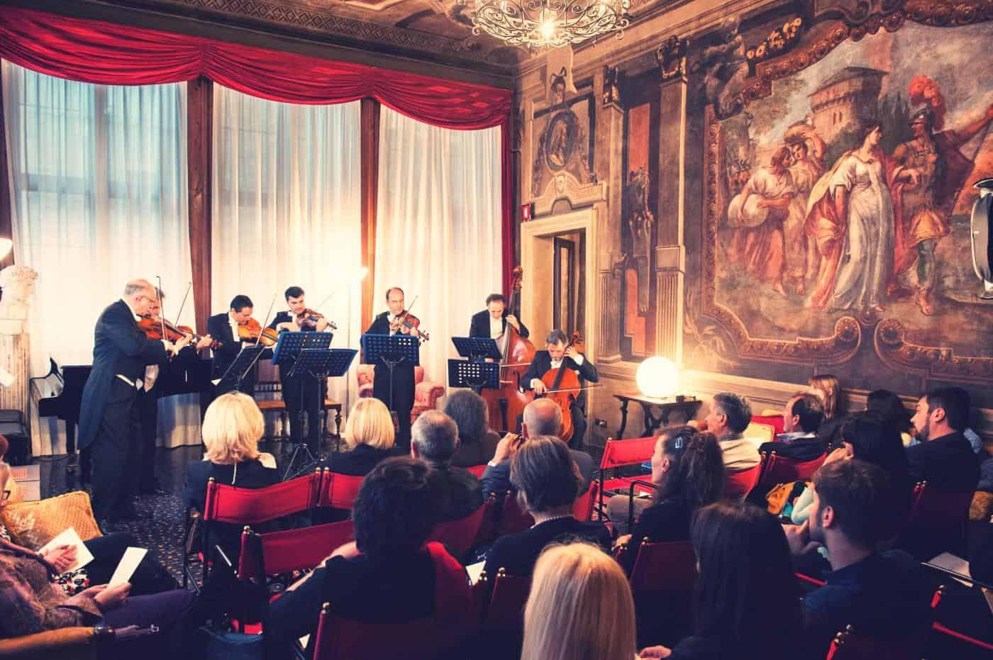 Que visiter à Venise: Concerts au Palais Attrazioni di Venezia: La grande musica a Palazzo Contarini della Porta di Ferro