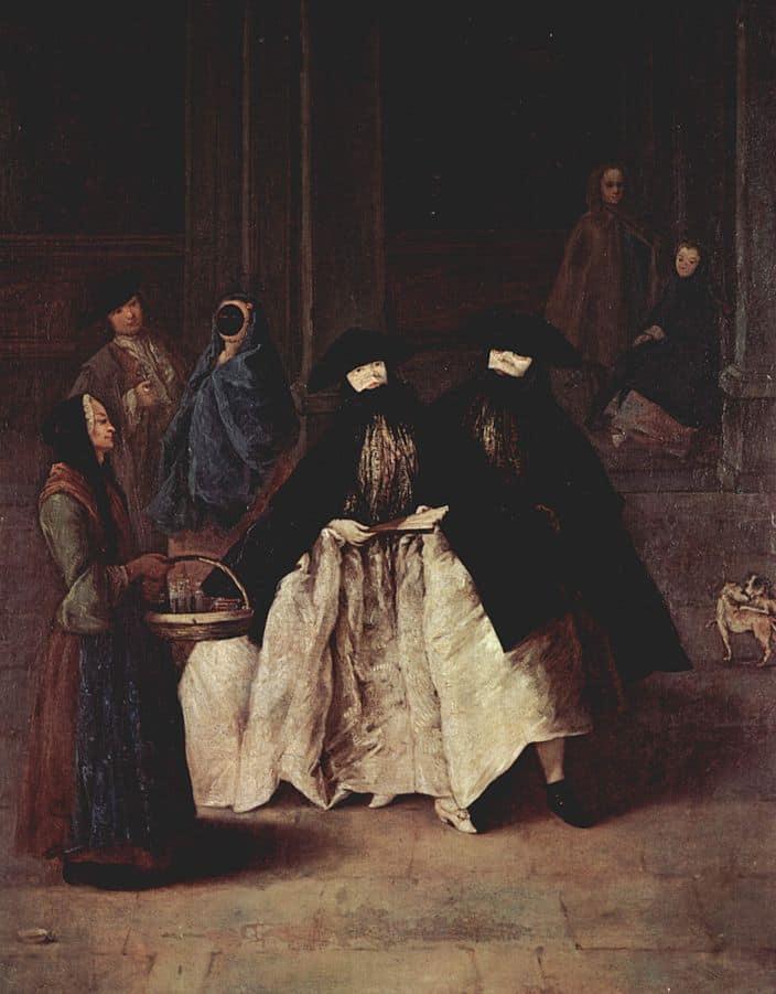 Storia delle maschere: l'uso quotidiano durante la Serenissima