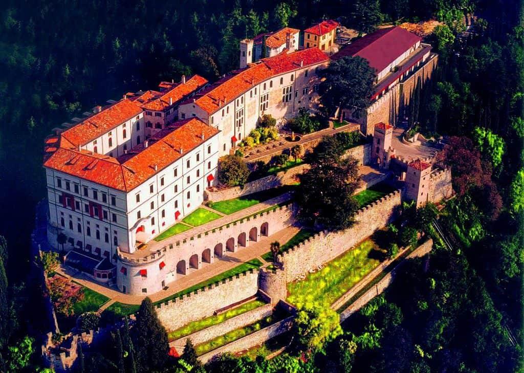 Castelbrando in Cison di Valmarino, photo by Marek69