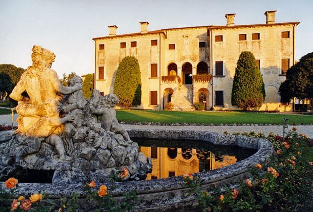 Villas Vénitiennes à visiter: Villa Godi Malinverni