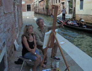 Malkurs in Venedig