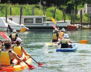 Sile Fluss: Treviso mit Kayak und Fahrrad