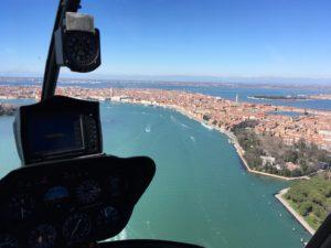 Hubschrauber Tour view