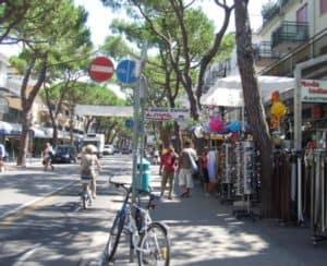 Venedig Strand: Jesolo und die Via Bafile