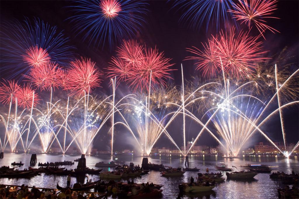 Feuerwerk venedig