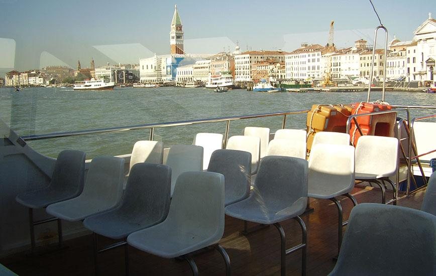Punta Sabbioni nach Venedig foto