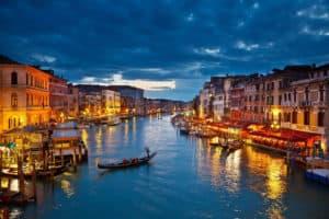 Venedig gondel bei nacht 7