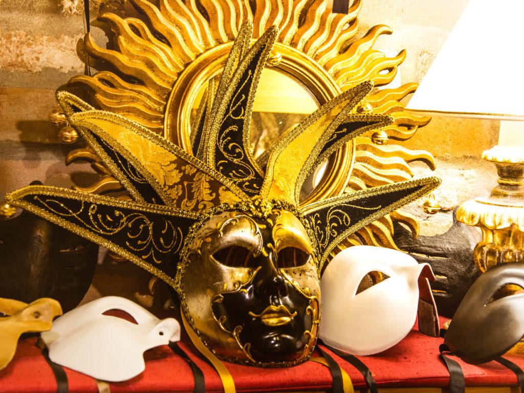 Maschera originale Carnevale Venezia