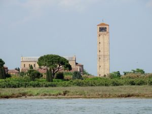 Venedig Inseln : Torcello von der Lagune aus