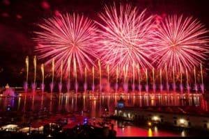 Feuerwerk venedig fireworks