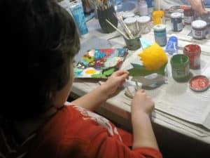 Luoghi da visitare in Veneto per bambini - Corso decorazione maschere a Venezia