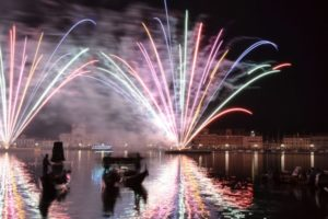 Feuerwerk venedig vivoven