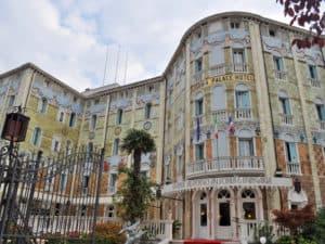Лидо ди Венеция. Отель Ausonia Hungaria