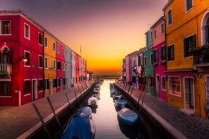 Inseln von Venedig burano